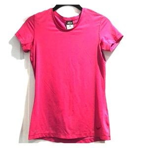 Nike Pro pink dri-fit Short sleeve top Sz S